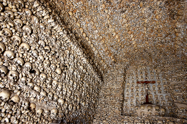 Chapel of Bones portugal